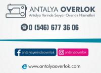 ANTALYA YERİNDE OVERLOK